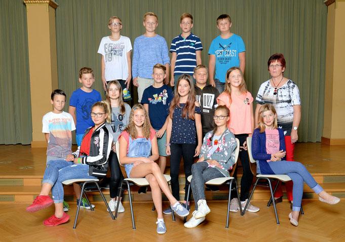 Klasse 6c / Klassenlehrerin Frau Ditscherlein