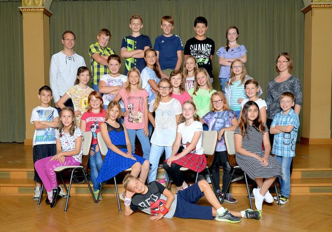 Klasse 5b / Klassenlehrerin Frau Rothe