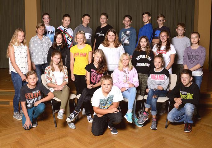 Klasse 7c - Klassenlehrerin Frau Sandner