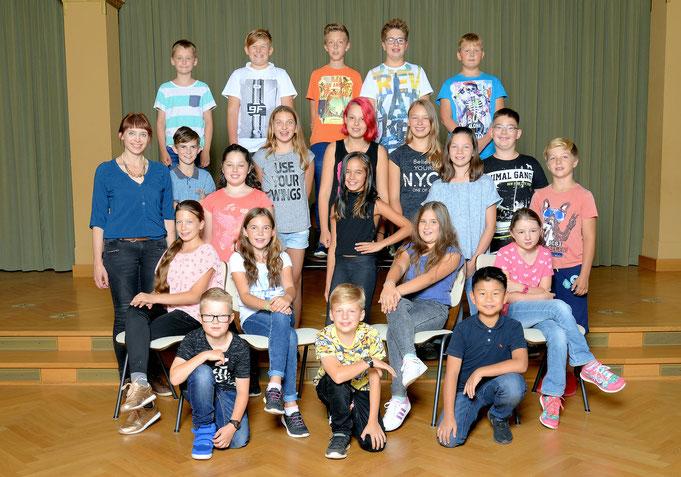 Klasse 5a / Klassenlehrerin Frau Klug