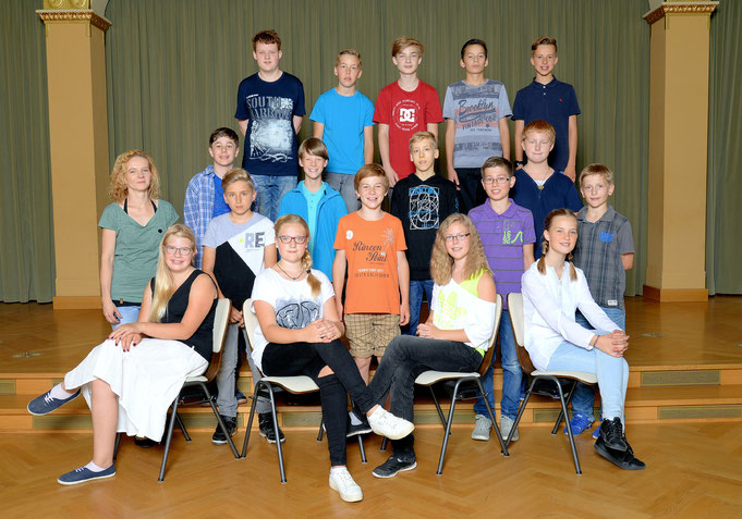 Klasse 7c / Klassenlehrerin Frau Konrad