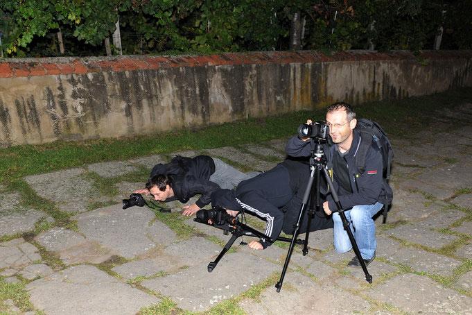 Fotografen bei der Arbeit