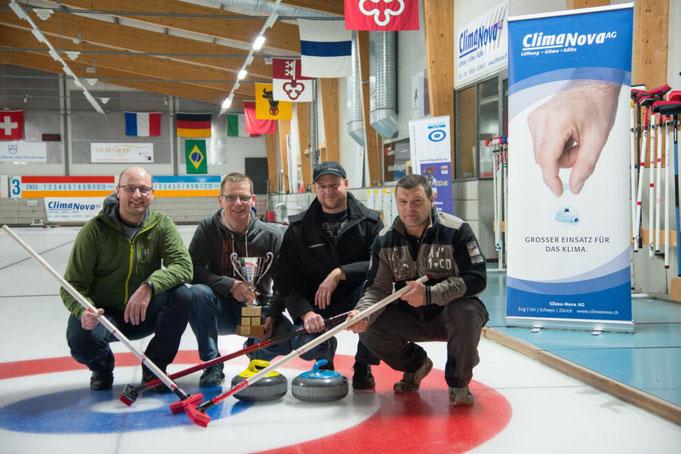 Sieger 16. Ad Fundum Trophy _ Team Benno Pfyl mit Erich Suter, Pius Betschart und Adi Föhn