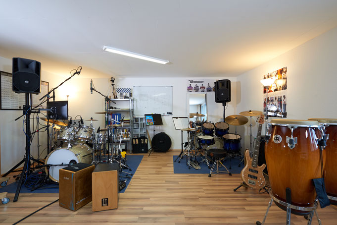 Ringo Studios Aufnahmeraum