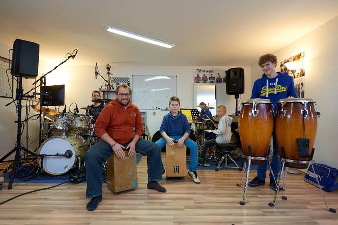 Ringo Studios Schüler Gruppenbild