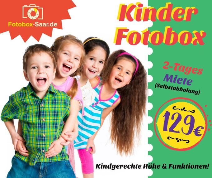 Fotobox für Kinder