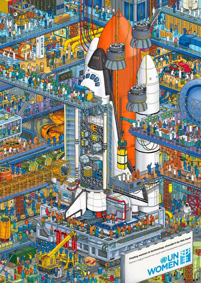 Centro espacial de la NASA
