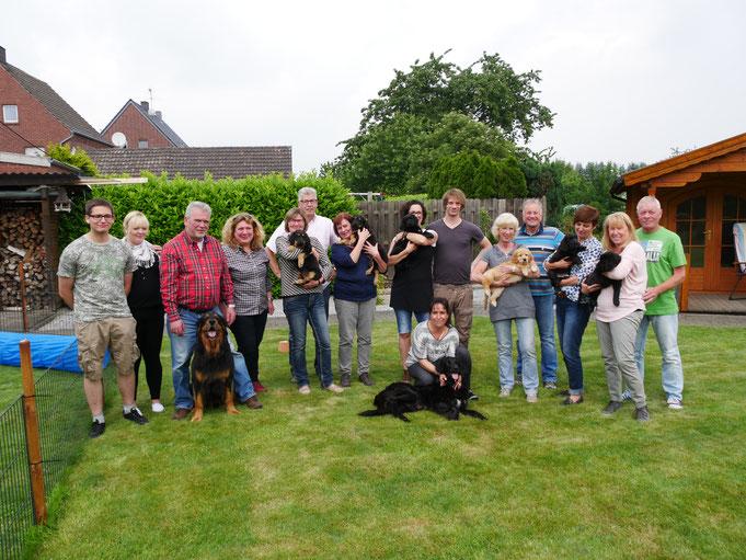 Gruppenfoto, leider ohne Margriet, Gunnar und Kjell