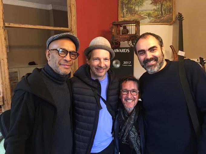 mit Jaytee Teterissa, Gerald Marleaux und Claudio Zanghieri  10/2019