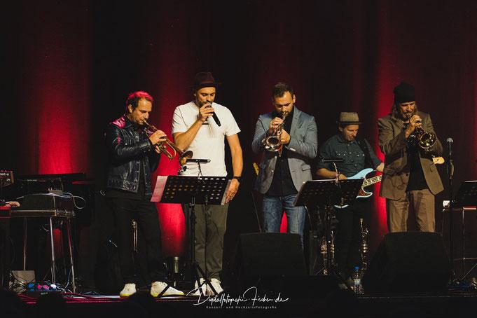 mit Joo Kraus, Max Mutzke, Lorenzo Ludemann und Rüdiger Baldauf 10/2019