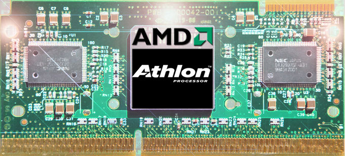 Amd Athlon K7 Cpu Museum Museum Of Microprocessors Die Photography