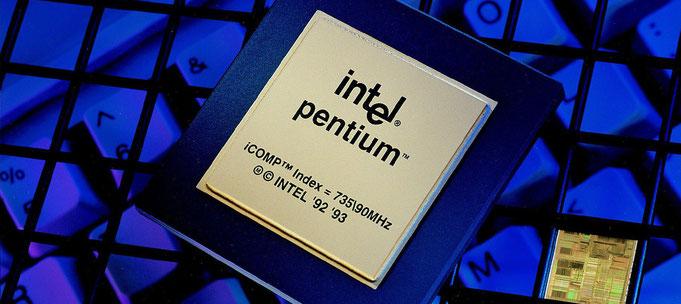 Intel Pentium 80586 (P5) © Intel