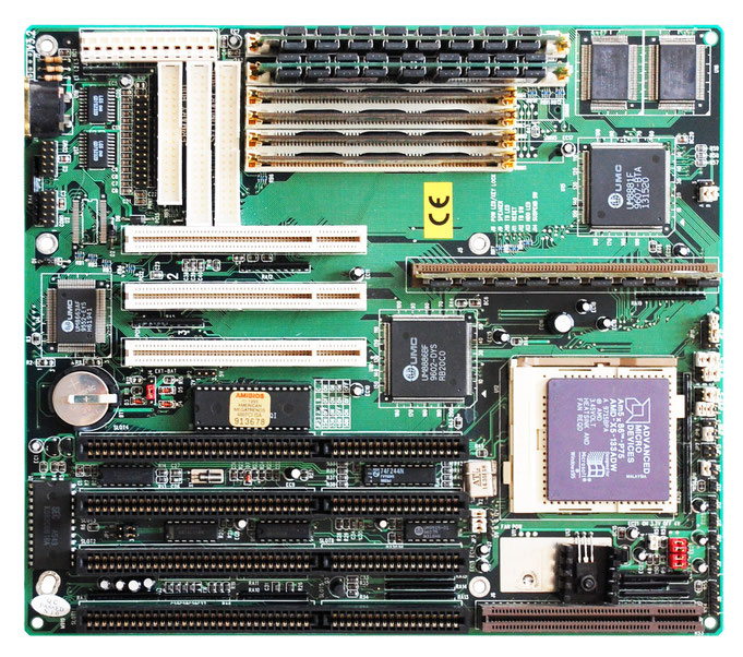 PCChips M919 V3.2 80486 VIP Motherboard with AMD Am5x86-P75