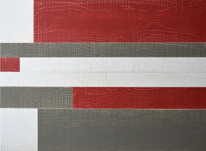 Wandverkleidung Vintage Rockin' White, Grey & Red, S. Fischbacher Living