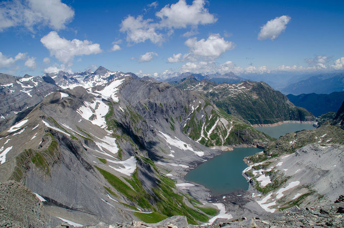 A proximité des principales randonnées dans les Alpes, autour du Mont-Blanc.