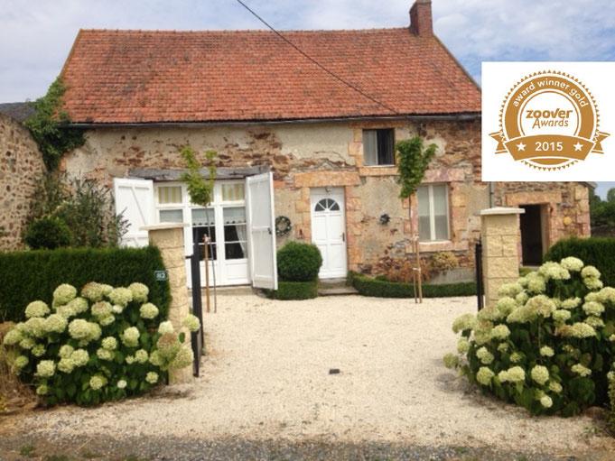 Vakantiehuis midden Frankrijk