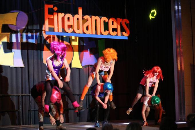 """""""Firedancers""""- Feuerwehr - W.Binder, M.Mayer,M,Trupp,A.EbenbergerTh.Granig,A.Rohrer,M.Strobl"""