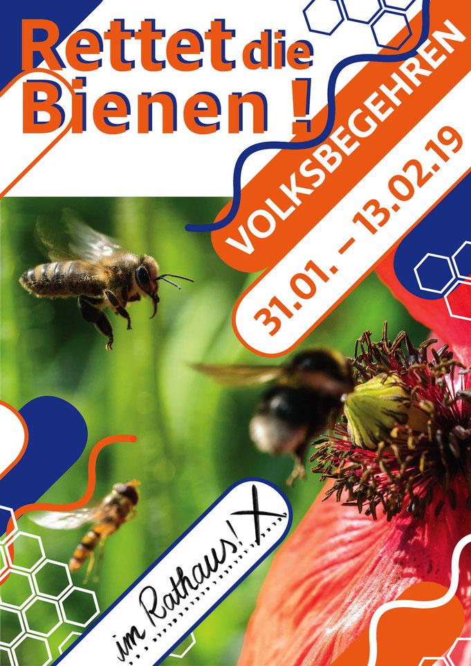 Volksbegehren Artenvielfalt in Bayern, Peter Adam, pa-foto.com, Bildspende, Biene, Hummel, Schwebfliege, Natur, Naturschutz, Glyphosat
