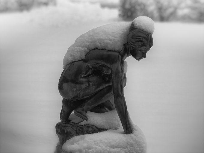 Schneeweiß, Last, Engel-Bad Wiessee, Tegernsee, Peter Adam, Makro, pa-foto, Natur, Fotografie, Photographie, Photokunst, Fotokunst
