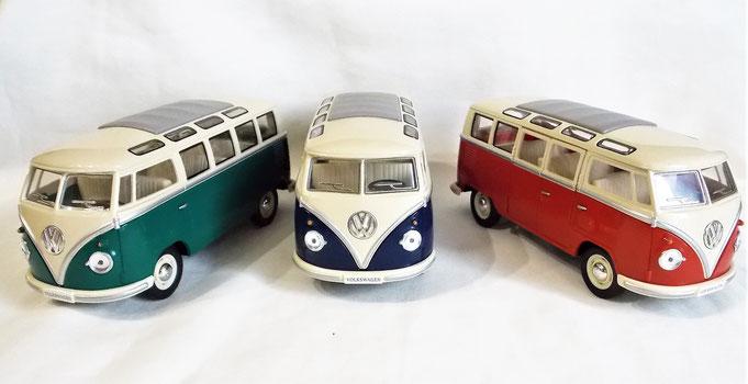 Modellauto VW Bulli 1 : 24