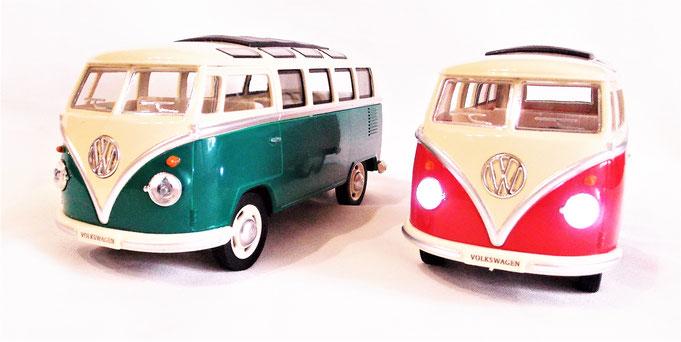 VW Bulli T1 Modellauto 1:24 mit Licht und Sound