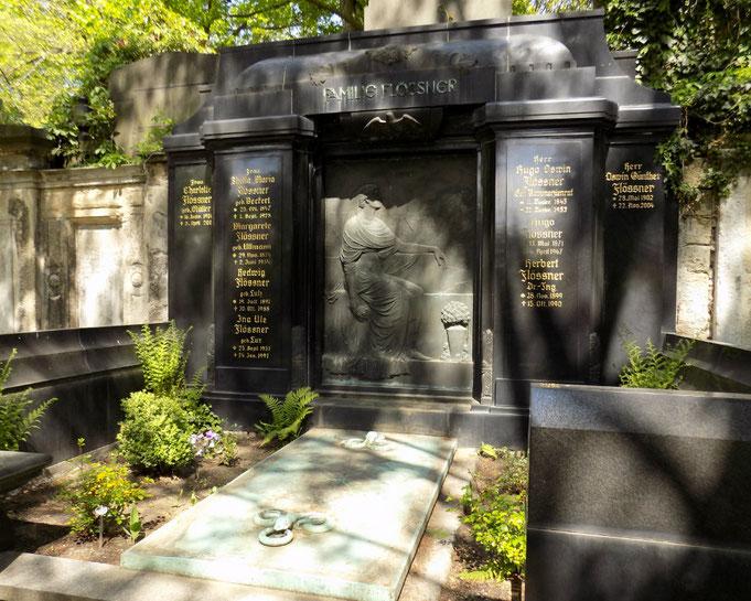 Friedhof St. Pauli Dresden Künstler Max Hermann Fritz Bild: Susann Wuschko