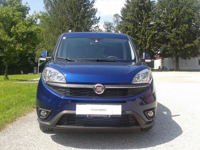 Fiat Doblo mit neuem Facelift. Alle Fotos mit freundlicher Genehmigung unseres Kunden Andreas - noch mal danke dafür :-)