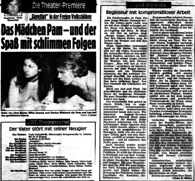 BZ Kritik 1986