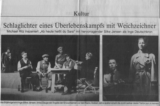 Stadttheater Hildesheim: re Silke Jensen, Oliver Hasenfratz
