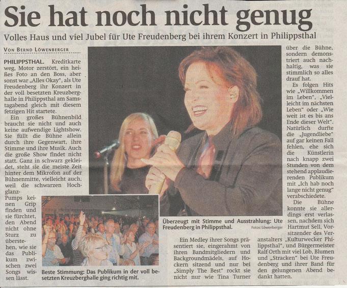 Bericht der Hersfelder Zeitung