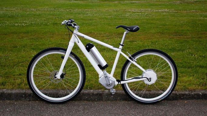 Електрическо колело, велосипед, без верига