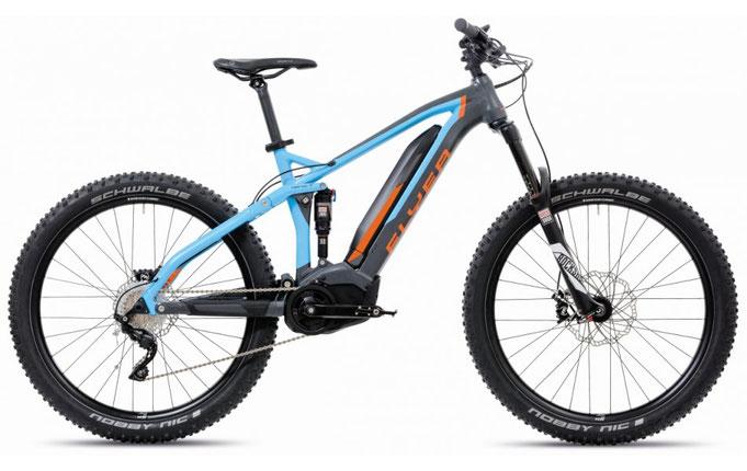 планиски електрически велосипед, Flyer