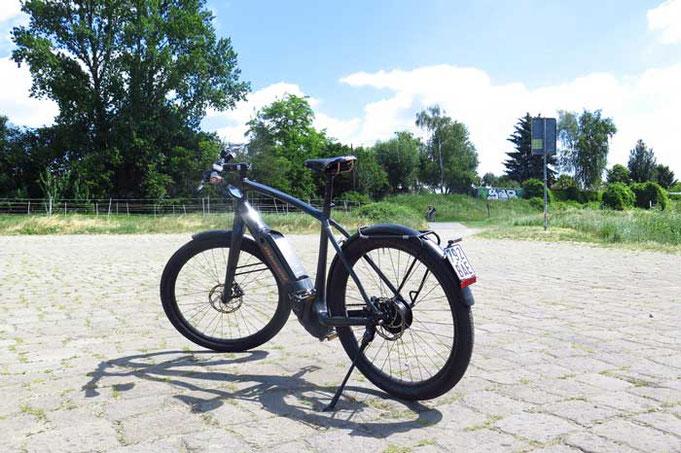 електрическо колело пътешествие