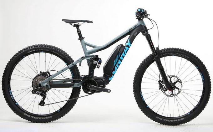 планински електрически велосипеди, Conway,Shimano