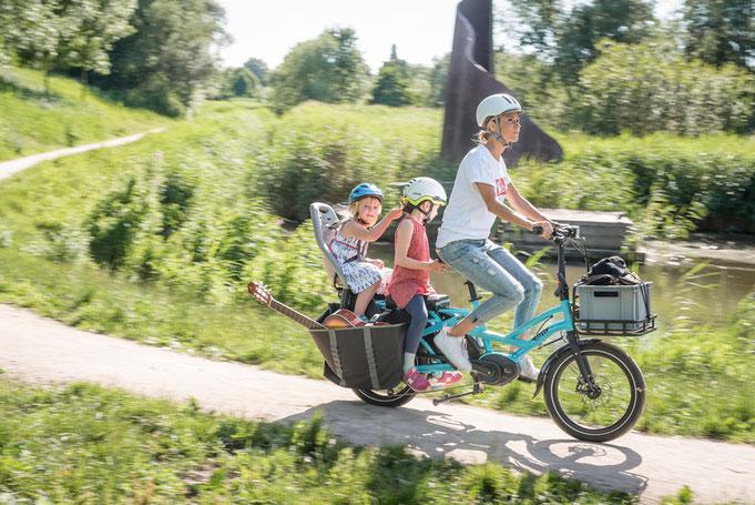 семеен електрически велосипед
