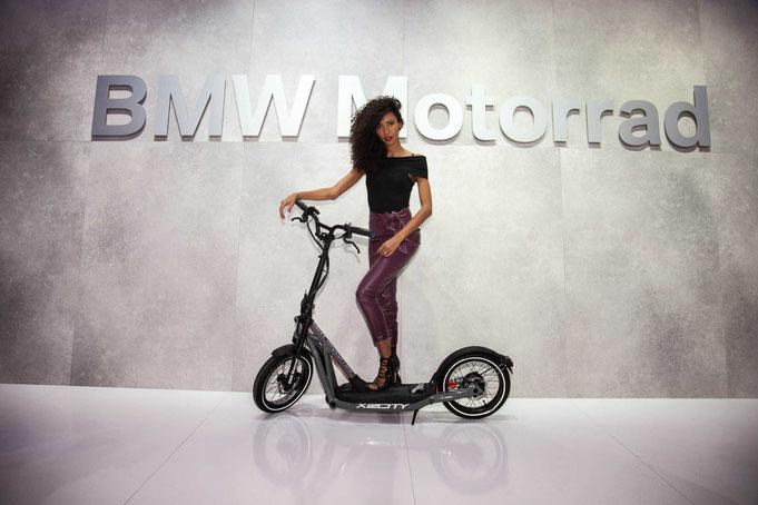 BMW X2CITY Street scooter pedelec