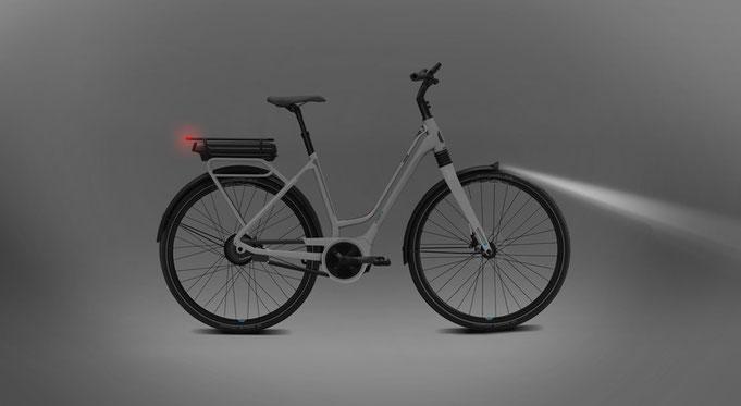 Електрическо колело осветление