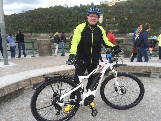 велопътешествие, електрическо колело