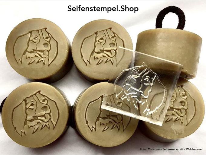Seifenstempel mit eigenem Motiv, Seifenstempel mit eigenem Logo, individueller Seifenstempel