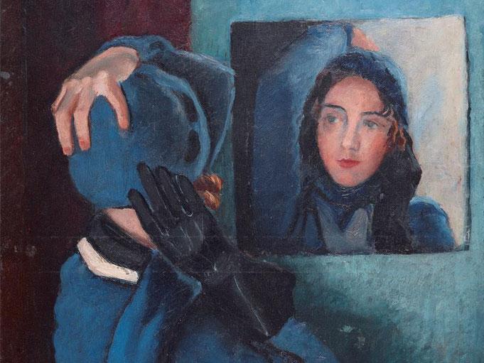 Femme au miroir - 1932 © André Hambourg