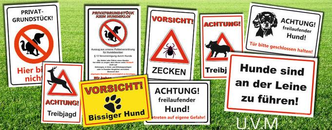 Kein Hundeklo Schild Schilder