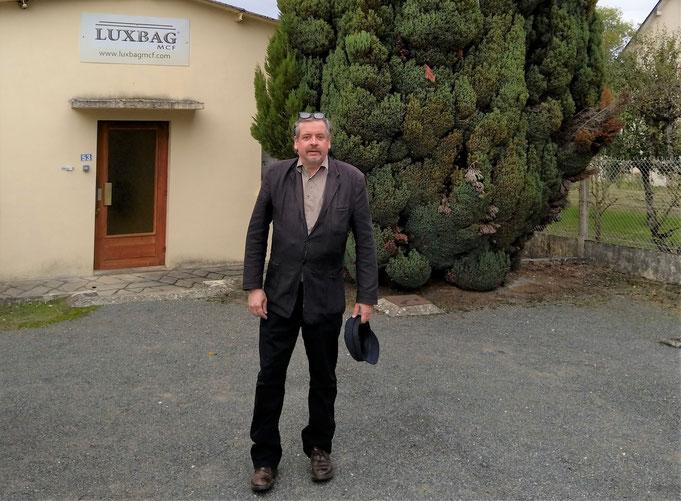 Mil Marie Mougenot (Maison Mougenot) en visite chez LUXBAG à Monthou-sur-Cher