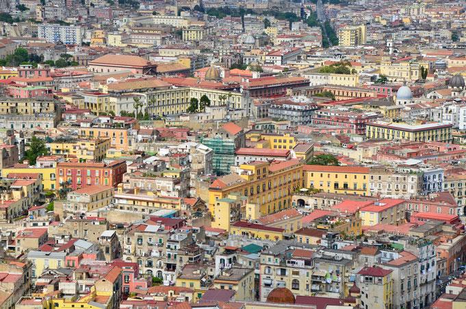 Napoli - Italia - Avril 2018