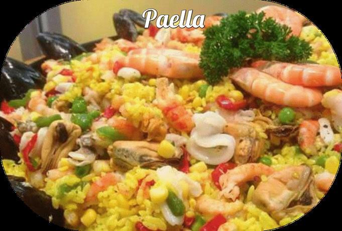 Probeertip! 0nze overheerlijke paella uit eigen keuken 500 gr € 6,50