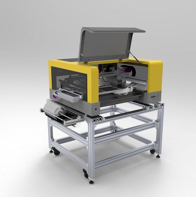 SMALLSMT Bestückungsautomat Arbeitstisch