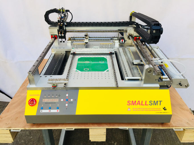 SMALLSMT, Yamaha CL Feeder, Bestückungsautomat, Pick and Place machine