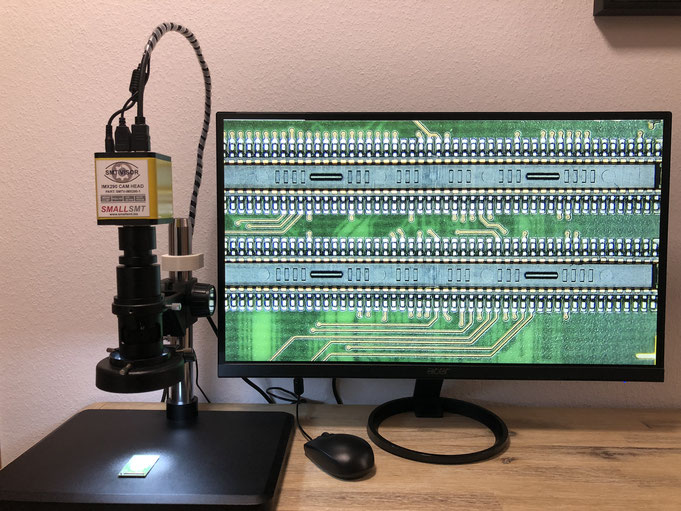 SMALLSMT SMT VISOR PCB Inspection system