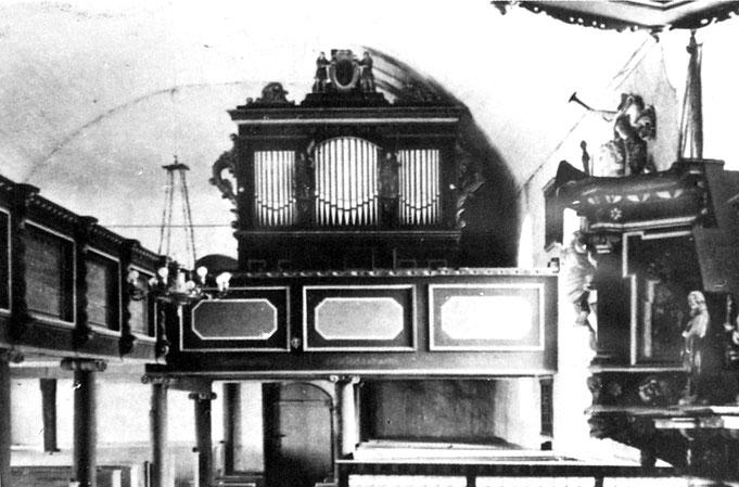 Die alte Sauer-Orgel von 1889