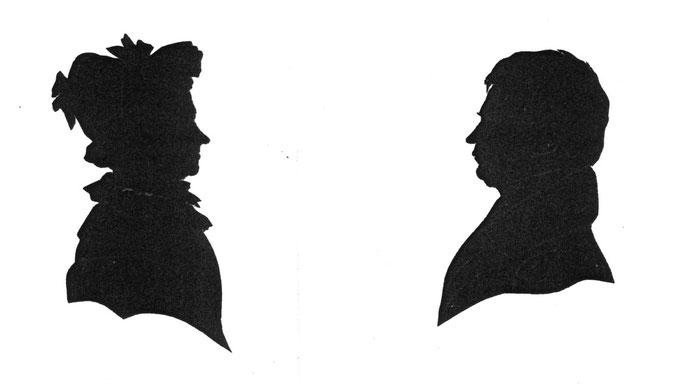 Das Ehepaar August Wilhelm und Henriette Grüneberg
