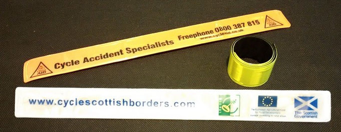 Custom Printed Reflective Snap Bands
